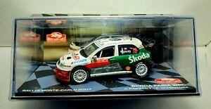 ALTAYA SKODA FABIA WRC #18 J. KOPECKY - F. SCHOVANEK RALLY MONTE CARLO 2007 1/43