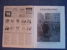L'ILLUSTRATION 3745 - 12/12/1914 RUSSIE EN POLOGNE ALSACE DANNEMARIE CANON 75 77