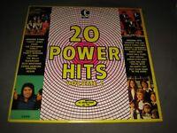 "Vintage 1973 K-TEL 1970's ""20 Power Hits"" compilation LP - (TU-222) EX+"