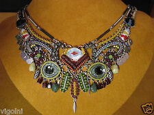 AYALA BAR NECKLACE NAVAJO PRINCESS CLASSIC SWAROVSKI CRYSTALS DESIGNER GIFT