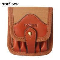 Tourbon Rifle 5 Ammo Holder Bullets Cartridges Pouch Gun Shell Bag w/ Belt Loop