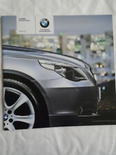 BMW 5 Series Saloon price list brochure Apr 2005