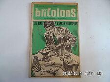 BRICOLONS N°99 11/1955 BATI A USAGES MULTIPLES COFFRE A JOUETS AQUARIUM   D44