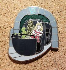 Disney Pin - WDI - Doombuggy - Haunted Mansion, Muppets, Kermit, Piggy - LE 250