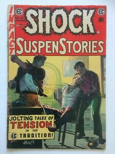 Shock Suspenstories #16, UNRESTORED, nice, Relist due to non payment