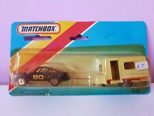 Matchbox 1-75 Twin Pack TP 113, MB3 Porsche turbo And caravan, 911