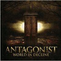 """ANTAGONIST """"WORLD IN DECLINE"""" CD NEW!"""