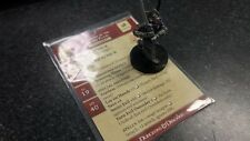 Dungeons and Dragons Miniatures, EXORCIST OF THE SILVER FLAME #6/60 Rare w/ Card