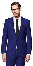 PABLO CASSINI Herren Anzug - 3 teilig - Slim Fit Smoking Hochzeit Business PCS