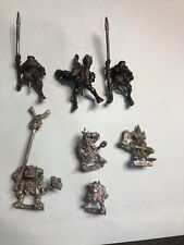 OOP Rare Pewter Savage Orcs + Forest Goblins Warhammer Fantasy