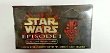 STAR WARS IKON EPISODE 1 COLLECTOR TRADING CARDS HIDDEN GLO BACKS Rare Sealed