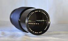 Canon 70-210 FD Lens