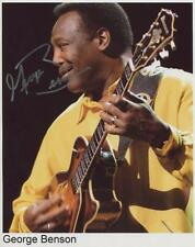 George Benson Signed 8 x 10 Photo Genuine In Person Soul Singer