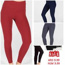 Ladies Legging Winter Warm High Waist Tummy Control Thick Fleece Plus Size