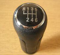 Pommeau de 6 Vitesses en Faux Cuir pour Audi A6 C6 A3 8P 8L A4 B5 B6 B7 TT Q7