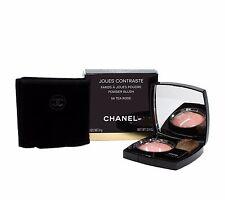 CHANEL JOUES CONTRASTE POWDER BLUSH SHADE #56- TEA ROSE 4G/0.14 OZ. NEW(D)