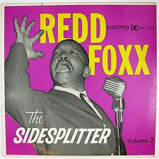 REDD FOXX The Sidesplitter Volume 2. LP (1959) COMEDY NM- VG++