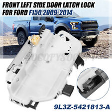 Front Door Latch Lock Left Driver Side Part For Ford F150 09-14 9L3Z-5421813-A