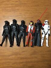 Star Wars lot of six figures, 3-B4600, 2-B4005, 1-B3912.