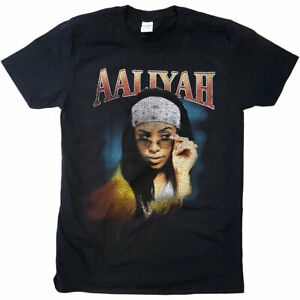 Aaliyah Trippy Official Tee T-Shirt Mens Unisex
