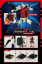 Effect Pd-01 Diaclone Reboot Robot V2 & Star Pilot