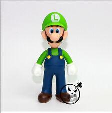 "New Super Mario Bros. - 5"" Luigi Action figures Doll Free SHIPPING"