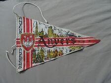 VINTAGE ANVERS ANTWERP ANTVERPEN BELGIUM  FLAG RARE