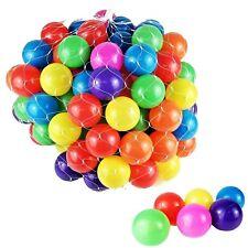 100 Bälle Bällebad Kinderzelt Farbmix Bunte Farben Spielplatz Ball Spielbälle