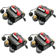 W6 80A Amp Circuit Breaker Car Marine Stereo Audio Inline Replace Fuse 12V-24V