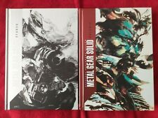 Metal Gear Solid I-IV - The visual encyclopedia: Box set in 2 volumes: French