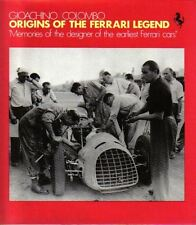 Ferrari Origins of the Legend - design of early racing cars by Giochino Colombo