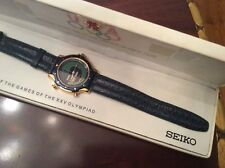 "NEW VINTAGE SEIKO ""1992 BARCELONA OLYMPIC ""Chronotimer Watch/wBOX 100% Working."
