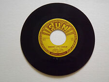 JOHNNY CASH   YOU TELL ME/ GOODBYE LITTLE DARLIN'  SUN 45