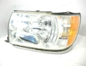 02 03 Infiniti QX4 Xenon HID Headlight Head Light Lamp Driver Left OEM