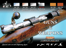 LifeColor Guns and Weapons Set (22ml x 6)