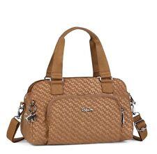 Kipling Alecto Small Handbag in Camel Emb BNWT