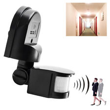 Auto On/Off Security PIR Infrared Motion Sensor Detector Switch Wall LED Light