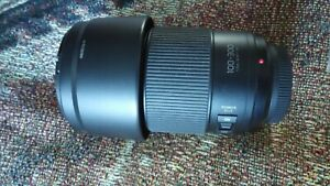 PANASONIC LUMIX  LENS 100-300 H-FSA MADE IN JAPAN POWER O.I.S