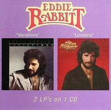 1 CENT CD Variations/Loveline - Eddie Rabbitt (Wounded Bird) COUNTRY
