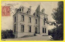 cpa RARE 17 - CHÂTELAILLON PLAGE (Charente Maritime) VILLA d' ORBIGNY en 1906
