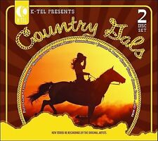 K-Tel Presents: Country Gals by Various Artists (CD, 2006, 2 Discs Brentwood)