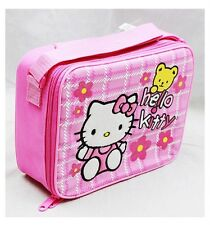 NWT Sanrio Hello Kitty Insulated Lunch Box Bag Snack Box with Insulation Lunch