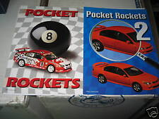 BIANTE BROCHURE'S POCKET ROCKETS 1 AND 2 1.64 MINI CARS