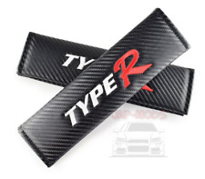 2x HONDA TYPE R Seat Belt Shoulder Cover/JDM/Civic/EP3/DC5/DC2/EK9