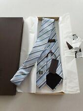 Louis Vuitton Silk & Cotton Tie 8.5cm With Original Box & Tags