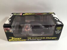 2002 REVELL FAST AND THE FURIOUS 1:24 SCALE DIECAST 70 DODGE CHARGER & FIGURE