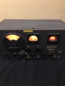 Hallicrafters SX-24 Skyrider Defiant 80,40,20,10M Receiver Powers Up Untested