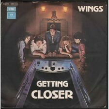 "Wings (Paul McCartney) Vinile 7"" 45 giri Getting Closer / Spin It On Nuovo"