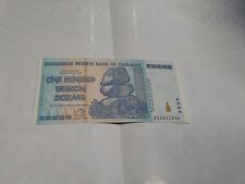 Zimbabwe 100 Trillion Dollars, AA/2008,P-91,UNC,100 Trrillion Series