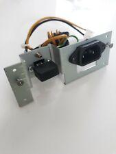 KORG Triton power input and switch panel